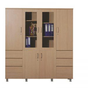 Tủ tài liệu DC1640V12 – tủ gỗ Veneer sang trọng, đẳng cấp